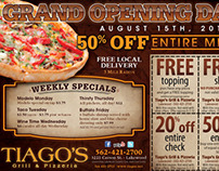Tiago's Grill & Pizzeria