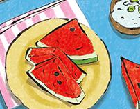 Foods illustration 2