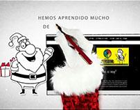 Videos Felicitación de Navidad personalizados