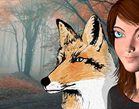 Fox and a Girl