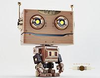 Retro robotoy III
