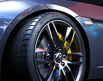Wheel I Jaguar F-Type I Full CGI