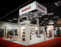 Riddell Trade Show Booth