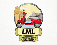 LML Scooter Club Catalunya - Ilustration
