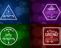 Free AE Template - Christmas gift