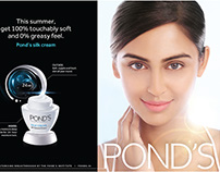 Pond's Silk Cream