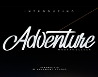 Free Download. Adventure Font