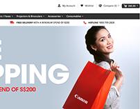 Canon E-Commerce