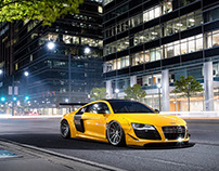 LibertyWalk Audi R8 - CGI & Photograph & Retouching