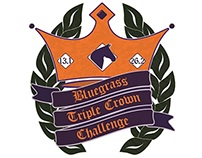 Bluegrass Triple Crown Challenge medal