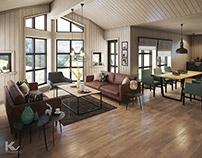 Cabins 2 interiors
