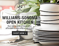 Williams-Sonoma Australia Homepage Design