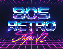 80s Titles effect
