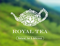 The Royal Tea - Logo Template