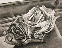 Roses and Ring Still Life
