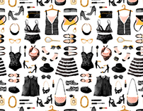 French chic-fashion pattern