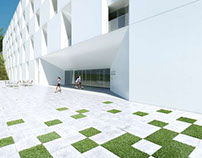Hospital - Render for SCAU Architects