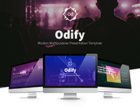 Odify Multipurpose Presentation Template