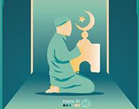 Musulman prière
