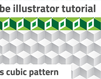 How to create cubic pattern in Adobe Illustrator
