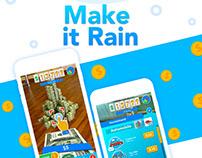 Дизайн игры Make it Rain