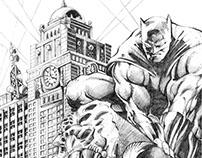 2006-2008 Marvel/DC Superheroes Illustrations
