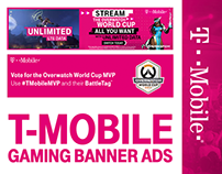 T-Mobile Gaming Banner Ads