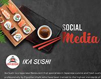 Ika Sushi Social Media