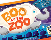 Ghost Elephant, Boo at the Zoo