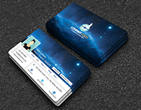 Facebook Cover Style Visiting Card