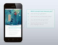 App concept | MindCet | Hackathon #STF4