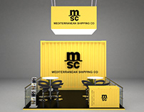 """""""msc"""" Booth"""