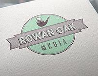 Rowan Oak Media Logo Design