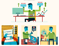 :::Stay productive infographic:::