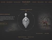 HARAKH Jewellery Website Design