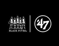 '47 x Black Fives Pop-Up Shops NYC & London