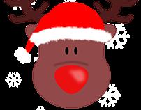 """Carte """"de-pour"""" Noël"""