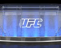 UFC Desk Set Design / Studio1 Group