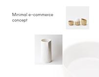 Minimal Online shop