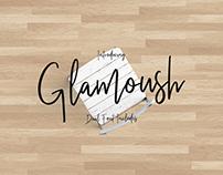 Glamoush Typeface Handmade Font