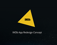 IMDb App redesign Concept