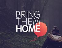 Bring Them Home - app&web concept