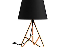 Albus Twisted Table Lamp by John Lewis & Partners