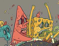 RIDE OUT x Spongebob