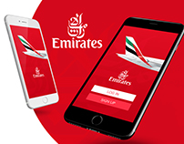 Emirates iOS UI/UX Concept Design