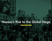 Animation of Huawei's Rise