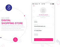 Digital Shopping Store