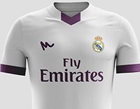 2016 Real Madrid Kit Concepts by Metcalfe