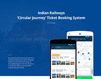 [CONCEPT] IRCTC circular journey ticketing app