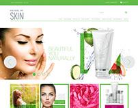 Herbalife - SKIN Website